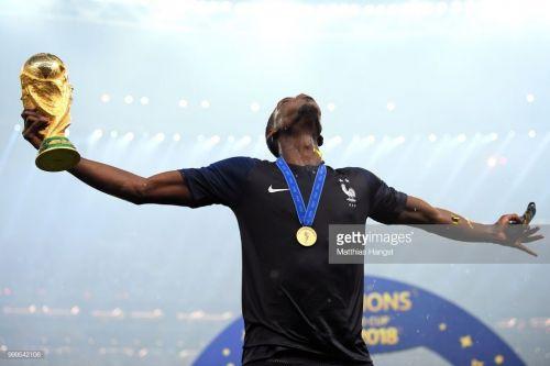 World Cup winner Paul Labile Pogba (Picture Courtesy: Getty)