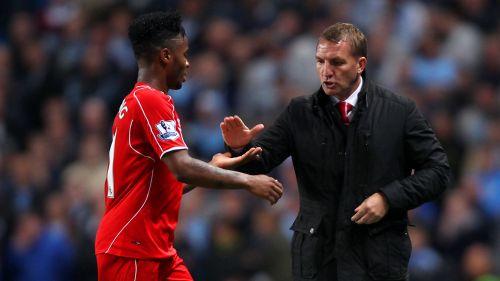 Sterling got his big break under Brendan Rodgers at Liverpool