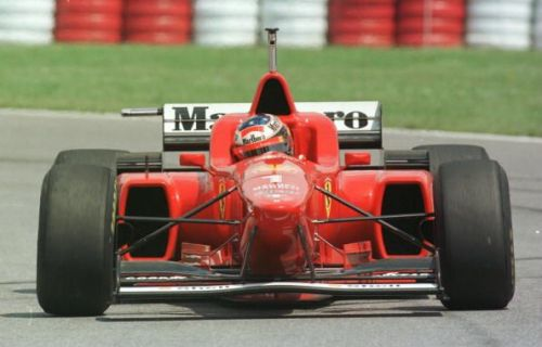 Schumacher pulled some excellent wins out of the bag despite his poor Ferrari in 1996.