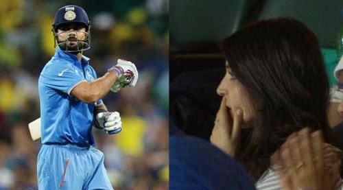 Anushka Sharma received an unwanted flak from the fans after Kohli's dismissal in the semi-finals