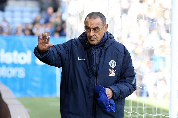 Maurizio Sarri is thought to be a tactical genius