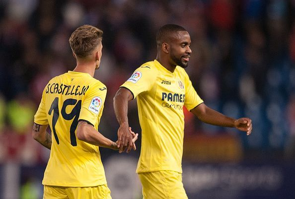 Cedric Bakambu netted two goals in as many games