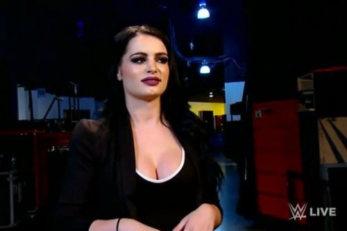 Can you imagine Paige as a WWE manager?