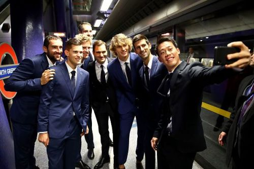 Nitto ATP Finals Players Take The London Underground