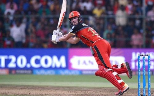 Royal Challengers Bangalore's AB de Villiers.