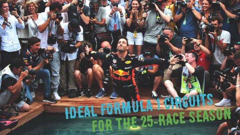 What races would an ideal 25-race Formula 1 season have?