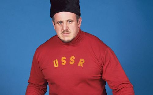 Volkoff was used as one of the typical 'anti-American' heels during the 1980s.