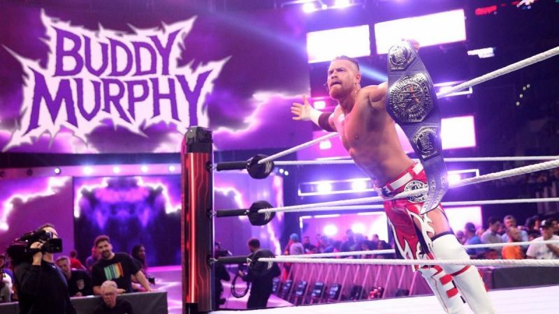 Buddy Murphy as the Cruiserweight Champion - WWE.com