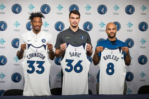 New Timberwolves additions