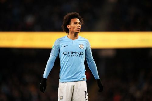 Looks like Leroy Sane will remain on the blue side of Manchester
