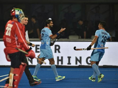 Akashdeep Singh scored a goal and created another