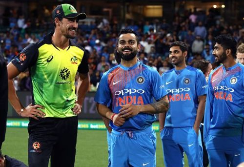 Kohli was all smiles after another successful chase