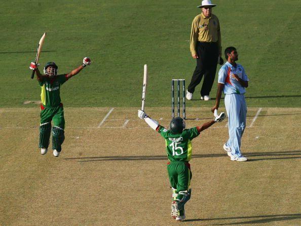 Bangladesh v India - Cricket World Cup 2007