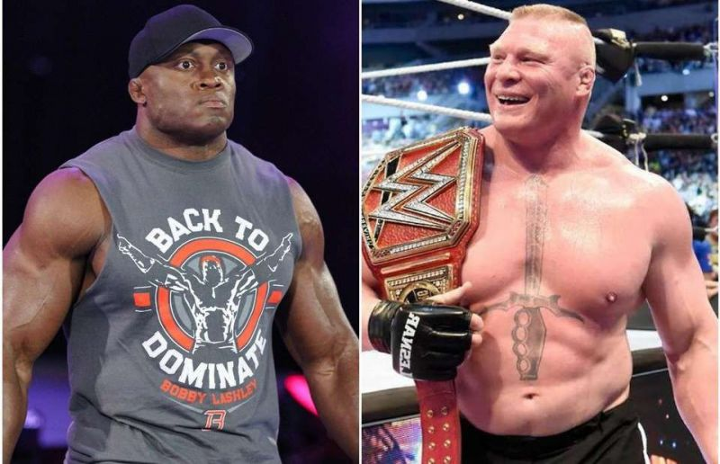 Opinion Bobby Lashley Winning The Universal Title At Royal Rumble