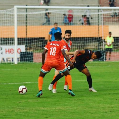 Chennai City FC showed no signs of complacency after taking the lead