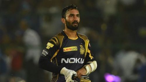 Dinesh Karthik, the KKR captain