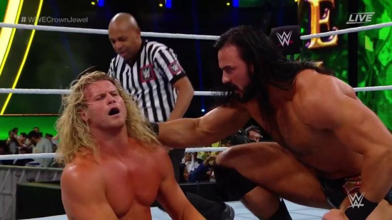 Ziggler won this match with a little help from his friend