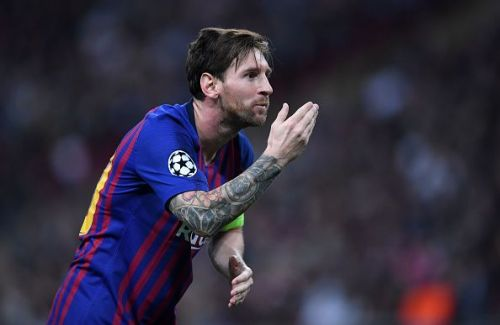 Messi is now the player with the most Champions League goals for a single club.