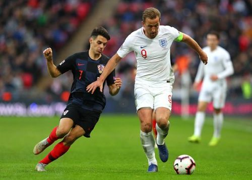 Harry Kane was involved in both of the team's goals against Croatia