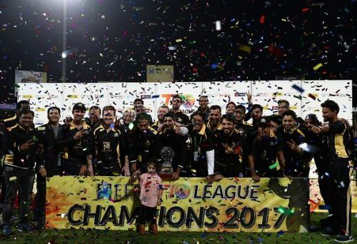 Kerala Kings after winning the 2017 edition