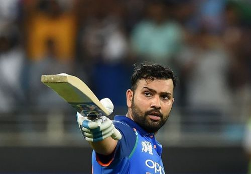 Rohit Sharma scored 111 against WI