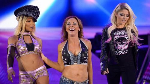 WWE can use Alexa Bliss in other roles, better than simply wasting her as a valet for multi-woman tag team matches