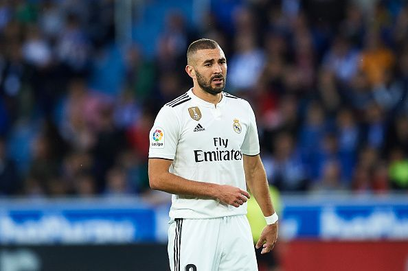 Benzema has dropped in numbers