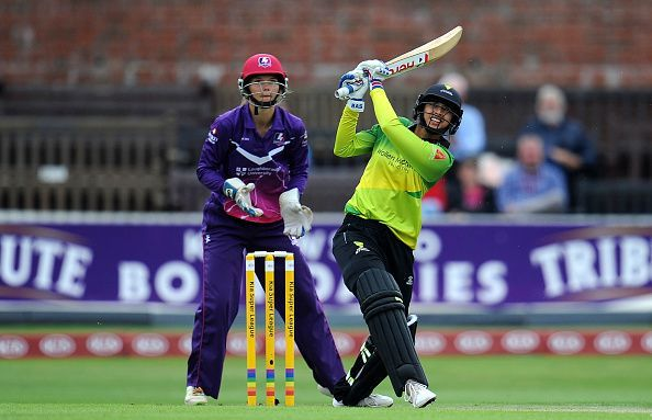 Playing for Western Storm in Kia Super League Smriti Mandhana went on to become the player of the tournament