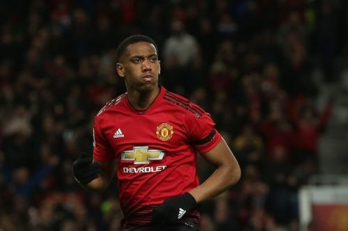 Martial is United's inform player at the moment.