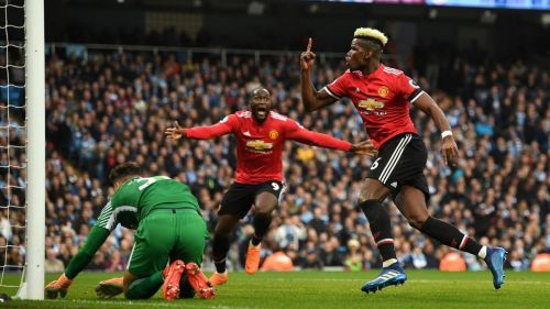 Manchester United has lost just once in four years at the Etihad