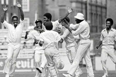 West Indian Team at 1980