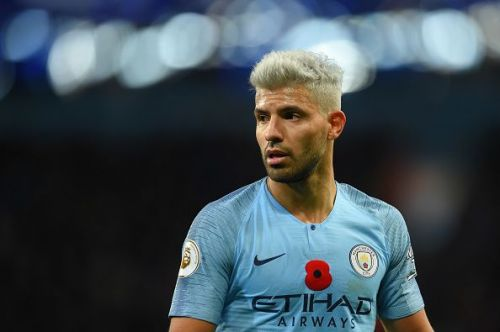 Sergio Aguero is included in our list of the best strikers in the Premier League