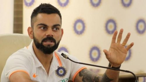 Kohli's Press Meet Before take off