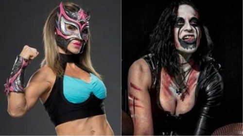 Wrestlers Sexy Star and Rosemary are 2 superstars that were involved in a modern shoot fight.