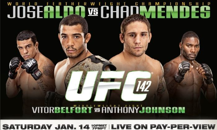 UFC 142 shocked and thrilled in equal measure