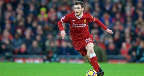 Robertson has been a dependable player for Jurgen Klopp