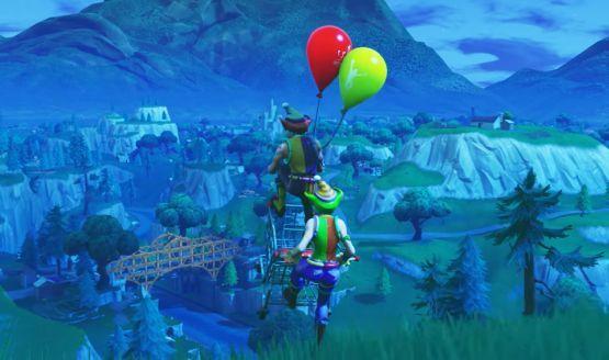 fortnite battle royal new balloon item - fortnite patch notes 621