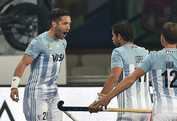 Mazzilli opened the scoring for Argentina