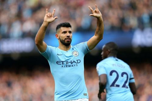 Aguero scored his 150th PL goal for Manchester City