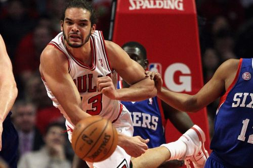 Joakim Noah registered a monster triple-double