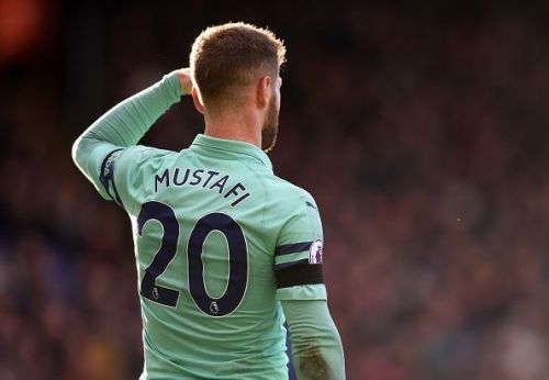The Arsenal fans are growing tired of Shkodran Mustafi