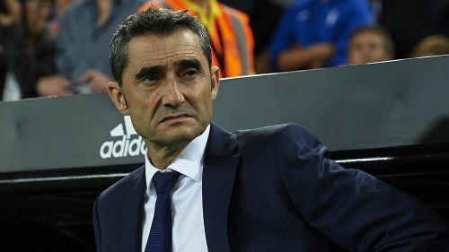 Ernesto Valverde Valencia v Barcelona La Liga 07102018