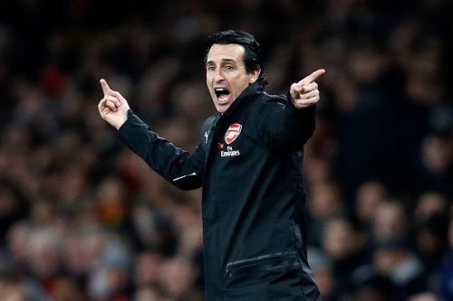 It may be seen as a deliberate tactic by Unai Emery to keep it tight in the first half of games