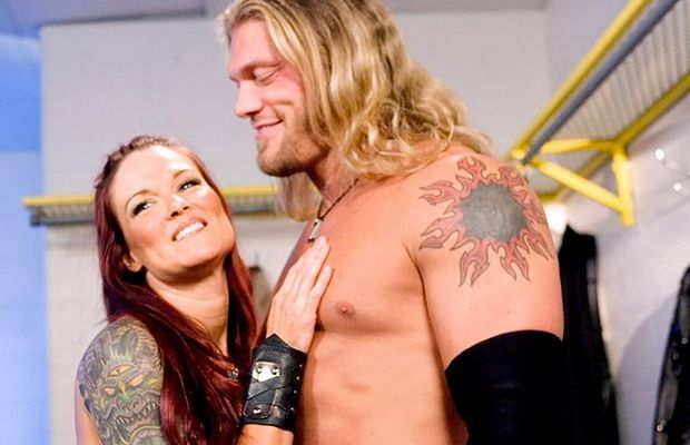 Edge and Lita were the hottest on-screen couple in the 2000s