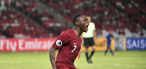 Qatar's Abdulrasheed Umaru won the top-scorer award with seven goals (Image courtesy: AFC)