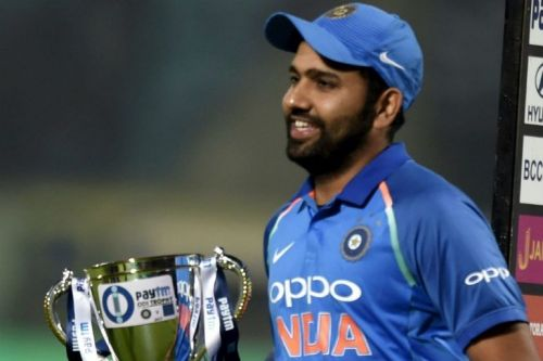 Rohit Sharma - One more trophy as captain