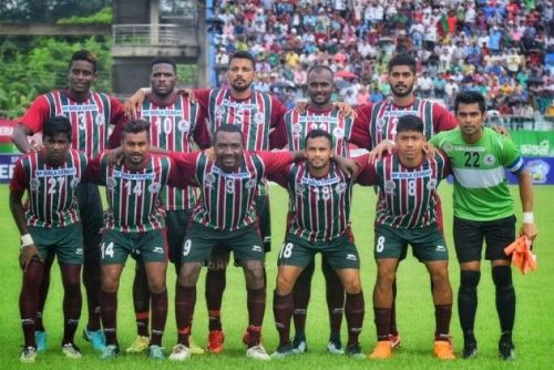 Mohun Bagan won the Calcutta Football League earlier this year