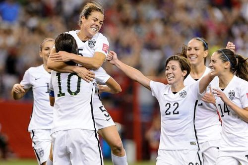 US women's football team at the 2015 World Cup