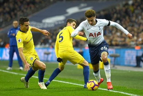 Tottenham completely nullified his presence by man-marking him