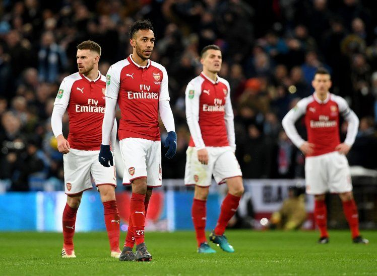 Arsenal has lost to both Chelsea and Man City this season